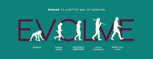 Grafik Evolve to a better way of working